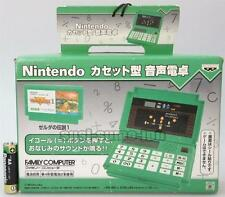 "NINTENDO FAMICOM CASSETTE TYPE VOICE CALCULATOR""LEGEND OF ZELDA""UFO PRIZE NEW"