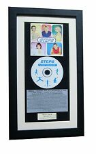 STEPS Steptacular CLASSIC CD Album GALLERY QUALITY FRAMED+EXPRESS GLOBAL SHIP