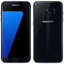 Neuf Samsung Galaxy S7 Edge noir onyx SM-G935F lte 32GB 4G sans sim