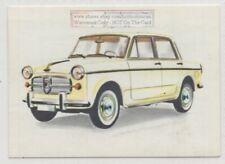 1960s Nekar Europa 1100 Fiat Automobile Vintage Ad  Card