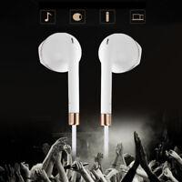 3.5mm + Mic Super Bass Music In-ear Stereo Headphone Headset Earphone Earbuds /L