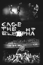 CAGE THE ELEPHANT LIVE POSTER NEW 24x36 FREE SHIPPING