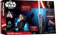 Star Wars Jedi Lightsaber Remote Control Build Kids Room Light Wall Mounted Lamp