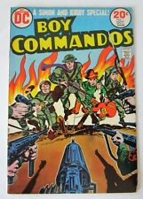 "DC  comics ""BOY COMMANDO "" # 1  Jack Kirby"