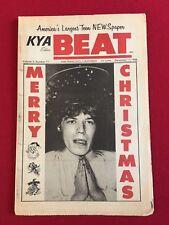 "1966, Mick Jagger (Rolling Stones), ""KYA BEAT"" Newspaper (No Label) Scarce"
