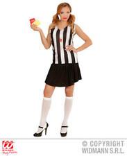 Femme Femmes Arbitre Girl Fancy Dress Costume Outfit S