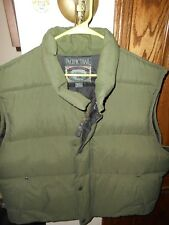 PACIFIC TRAIL MEN'S DOWN PUFFER VEST...SIZE XL...GREAT CONDITION!