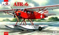 Amodel 72312 AIR-6 Soviet Floatplane, 1/72 scale plastic model kit