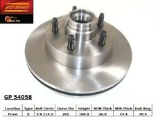 Disc Brake Rotor-2-Wheel ABS Front Best Brake GP54058