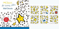 ANDY WARHOL SO MANY STARS WALL DECALLS - GLOW IN THE DARK STAR STICKERS