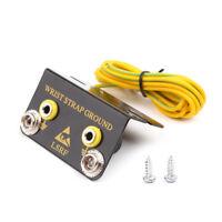 ESD Dual Banana Plug Ground Socket Point For Anti Static Two Wrist Strap Armband