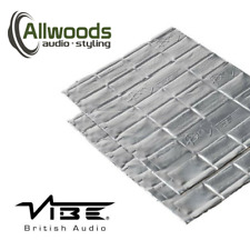 Vibe Anti-Vibe Car Audio Sound Deadening 2.5mm 2 Sheets Door Speaker Kit