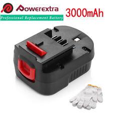 3000mAh 12V Battery For Black & Decker A1712 / Firestorm FS120B / FSB12 / HPB12