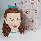 The Wizard of Oz-DOROTHY Cookie Jar-W/Original Box-By ENESCO-1998 #857548