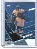 WWE Rey Mysterio Topps 2011 Ringside Relics Event Used Ring Skirt Relic Card 2Cl