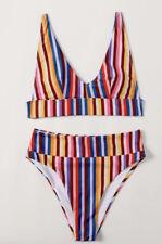two piece high waist swimsuit