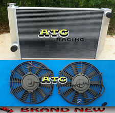 3 Core Aluminum Radiator for Ford Falcon V8 / 6 cylinder XC XD XE XF MT & Fans