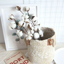 "Cotton Boll Cotton Ball Garland 5/' 5 feet 60/""  Farmhouse Wedding by Raz Imports"