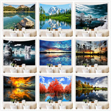 DropShip Amazing Landscape Wall Hanging Tree Natural Scenery Tapestry Room Decor