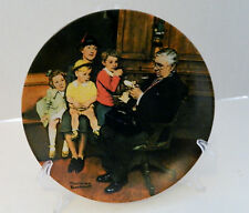 The Family Doctor Sixteenth Plate Norman Rockwell Heritage Collection No Coa Box