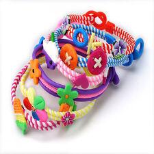 6PCS/Lot Wholesale Jewelry Polymer Clay Kids Baby Children Bracelets Wirst band