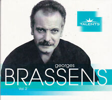 CD DIGIPACK GEORGES BRASSENS COLLECTION TALENTS BEST OF 17 TITRES NEUF SCELLE