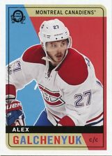 17/18 O-PEE-CHEE OPC RETRO #345 ALEX GALCHENYUK CANADIENS *40224