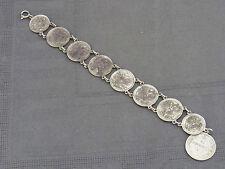 schönes altes Armband mit russische Münzen