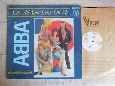 "ABBA ‎– Lay All Your Love On Me Etichetta: Vogue ‎– 310922 Formato: Vinyl, 12"","
