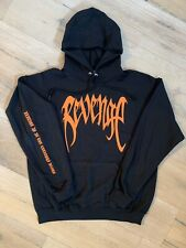 Xxxtentacion Revenge Kill Hoodie (black) Orange Design Xxx Sweatshirt X-LARGE XL