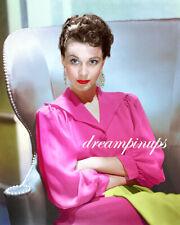 VIVIEN LEIGH 1940 Hollywood Color Portrait PINK PASSION