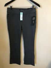 "NWT Stitch fix Liverpool pants size 4 grey Jordyn boot-cut inseam 32"" mach wash"