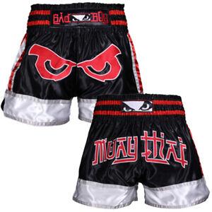 Bad Boy Kao Loy Muay Thai Shorts Size MEDIUM UFC ONE FC MMA Kick Boxing Glory