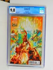 AVENGERS 25 CGC 9.8  EXTREMELY RARE 1:75  ALEX ROSS 75 YEARS OF MARVEL VARIANT