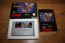 Jeu ActRaiser 2 pour console Super Nintendo SNES en boite complet