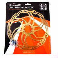 ALLIGATOR Motion Mountain MTB Road Bike Disc Brake Rotor 180mm 203mm - Titanium