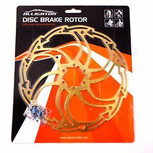 ALLIGATOR Motion Mountain MTB Road Bike Disc Brake Rotor 180mm 203mm - Titanium