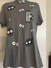 Studio Ghibli Her Universe My Neighbor Totoro Soot Sprites Juniors T-Shirt XL