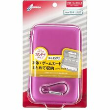 NEW CYBER Semi Hard Case Pouch Pink for Nintendo 3DS LL XL JAPAN F/S