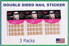 Double Sided Self Adhesive Nail Sticker for Acrylic False French Nail Tips