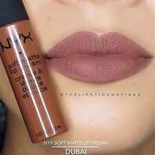 NYX Soft Matte Lip Cream - DUBAI ( SMLC34) ! New Shades !!!