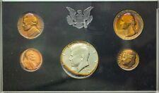1969-S US MINT PROOF SET 40% SILVER HALF DOLLAR GEM COLOR TONED BU UNC #2 (DR)
