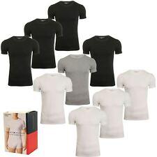 Tommy Hilfiger Mens Crew Neck T-Shirts 'Premium Essentials' (3-Pack)