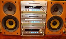SONY CMT-SD1 MIDI AUDIO SYSTEM.CD/MINI-DISC/TAPE/TUNER + REMOTE & SPEAKERS