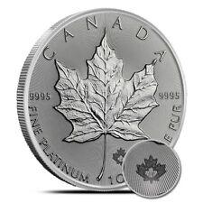 2018 1 Oz $50 Platinum Canadian Maple Leaf Coin .9995 - Gem Uncirculated (BU)