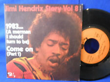 JIMI HENDRIX 1983 come on  BARCLAY 61.396 EXC