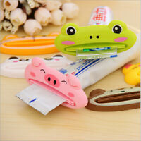Bathroom Home Rolling Tube Holder Squeezer Easy Cartoon Toothpaste Dispenser