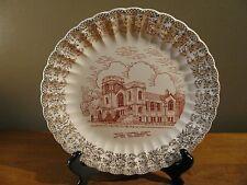 Vintage Rare Plate Trinity Lutheran Church 75 Anniversary Albert Lea. Minnesota