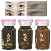 Permanent Augenbraue Tattoo Pigment 3D Micropigmentation Braut Tinte T8V0