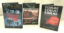 DVD WWII Lot Tora Tora Tora, The Longest Day, Pearl Harbor War Documentary